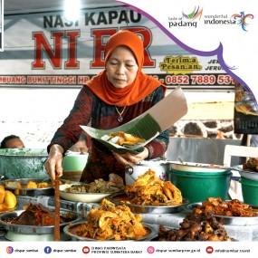 Wisata Kuliner Sumbar - Nasi Kapau (Bukittinggi)